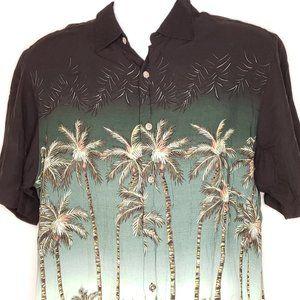 ArtHouse Shirt Size Large Hawaiian Camp Style